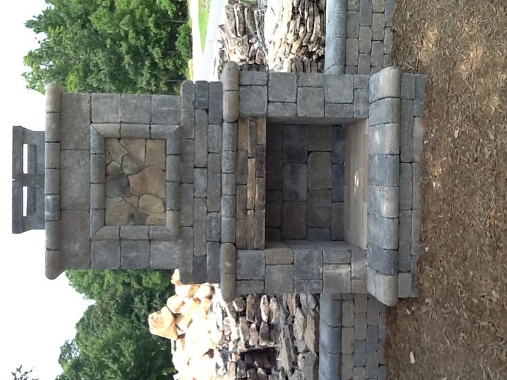 Outdoor Fireplace Kit On Sale Now At Visions Landscape Supply And Design,  Our New Outdoor