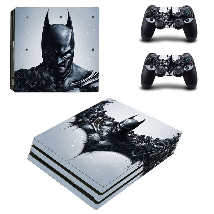 Batman Ps4 pro edition skin decal for console and controllers