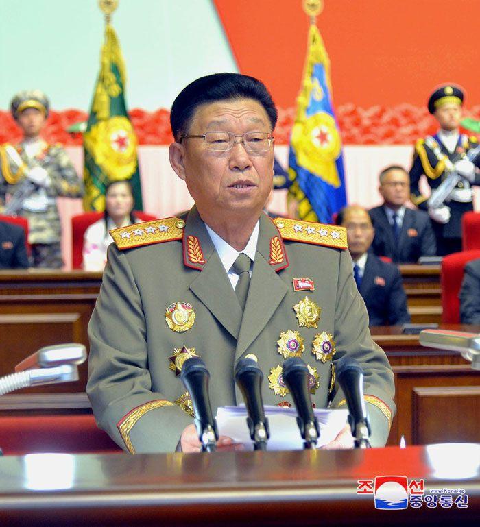 경애하는 최고령도자 김정은동지를 조선인민군 최고사령관으로 높이 모신 7돐