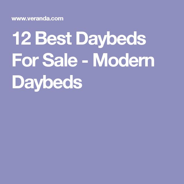 12 Best Daybeds For Sale - Modern Daybeds