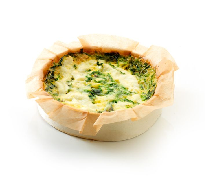 Quiche Ricotta Spinach