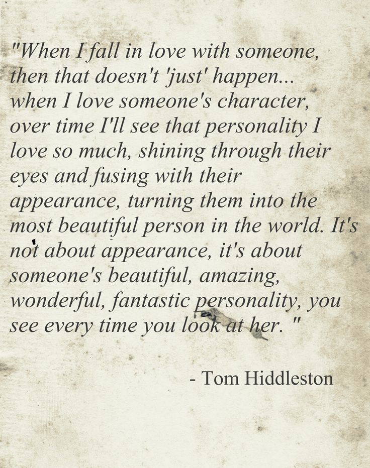Tom Hiddleston. AWwwwwww. I so wish I could meet this guy. Just to be his friend if nothing else.
