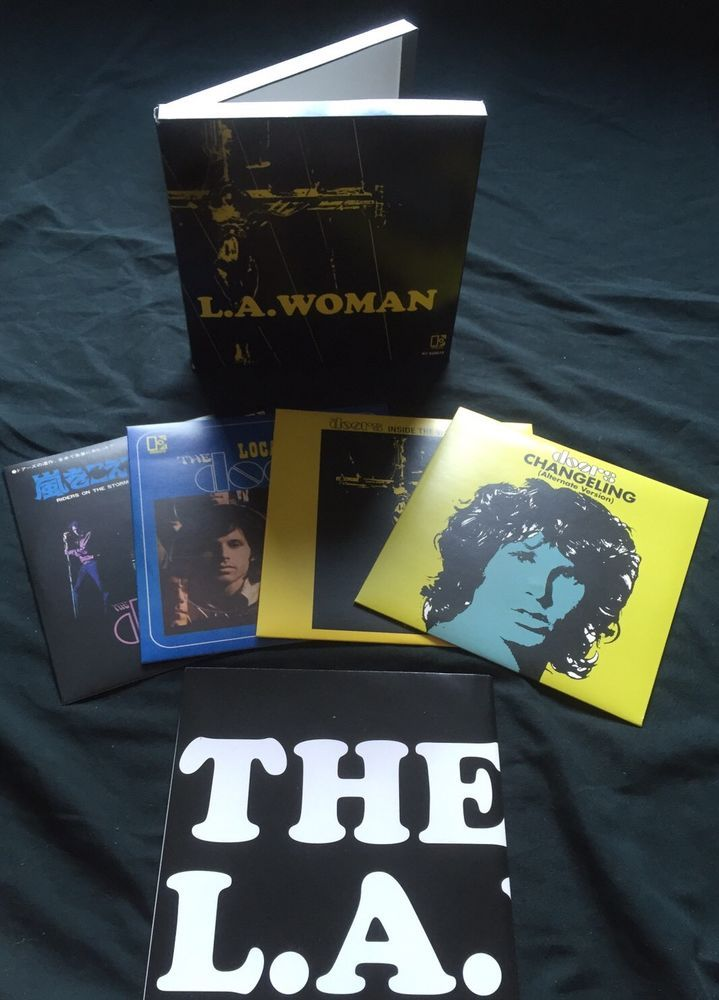 The Doors LA Woman Singles Box Set from 2011 Record Store Day #thedoors #rsd #singles