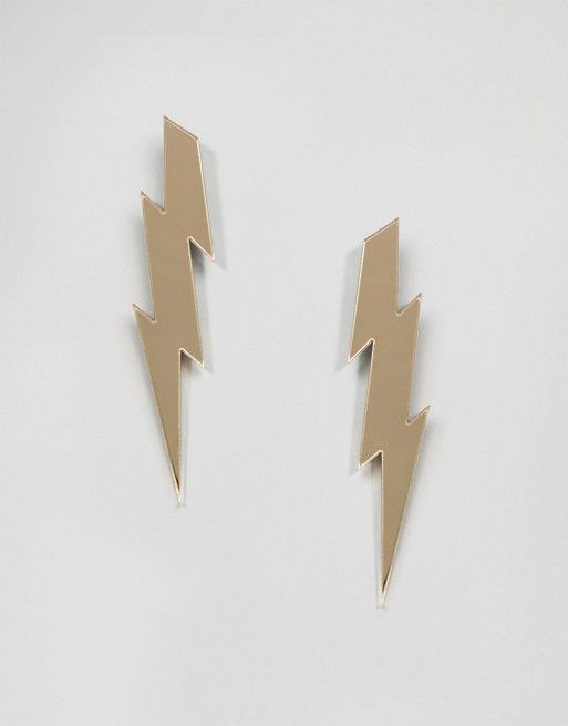 Suzywan DELUXE | Suzywan Halloween Lightning Bolt Earrings