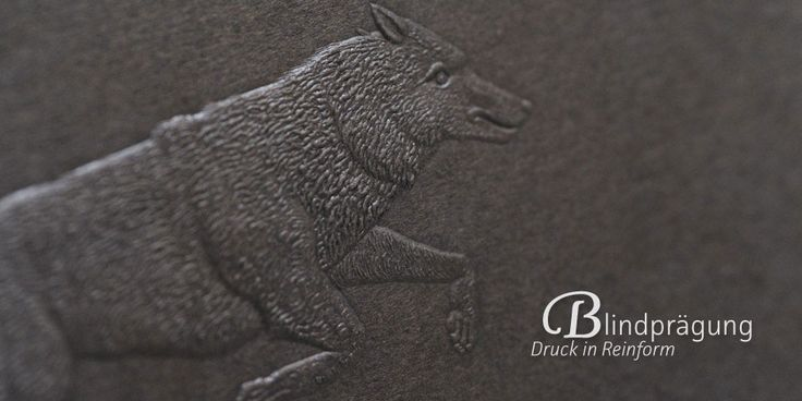 Blind Embossing   www.wolf-manufaktur.de