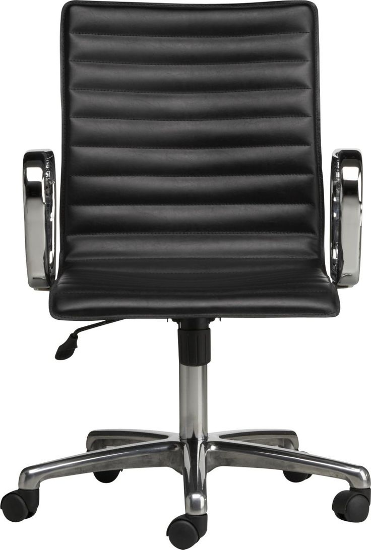 Knoll Life Chair Geek - Ripple black leather office chair