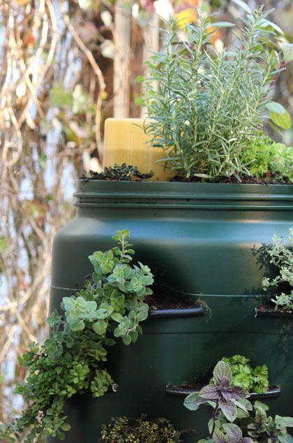 Balkonton / Composting bin - tuinieren.nl
