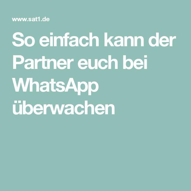 So einfach kann der Partner euch bei WhatsApp überwachen