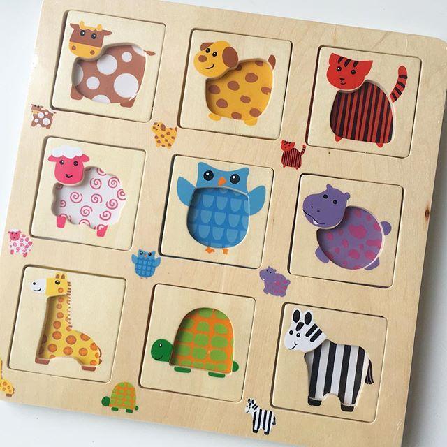 Ještě jedny roztomilé puzzle :-) #puzzle #hracka #logika #deti #jiny_svet