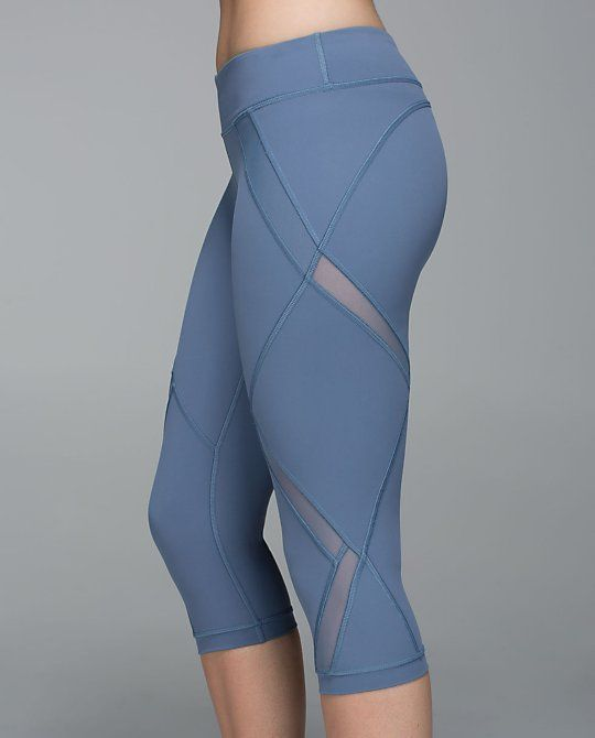 Love these awesome leggings! Cutouts galore. Cool To Street Crop by Lululemon.