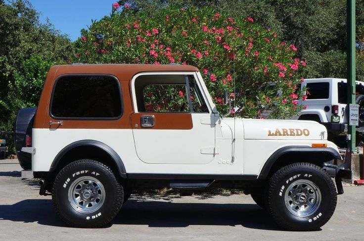 Lifted Jeeps For Sale >> 1981 White CJ7 Laredo 304 V8! Automatic and Hard Top! More ...