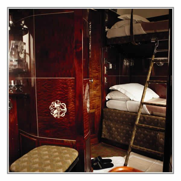 Try the Venice Simplon-Orient-Express as it journeys throughout Budapest, Transylvania, Istanbul, Cracow, Prague or Berlin