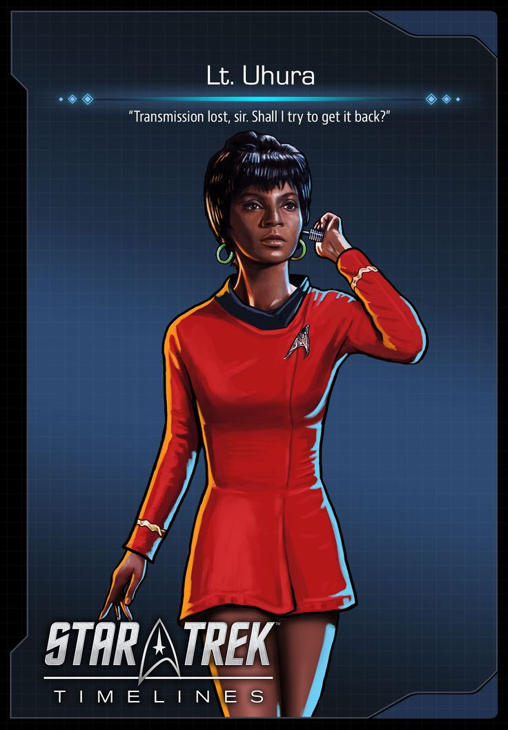 Lt. Uhura from Star Trek: The Original Series