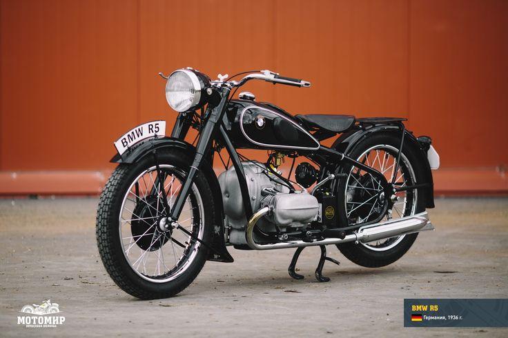 есной 1936 года компания BMW представила свою абсолютно новую разработку – мотоцикл R5. Внешним видом эта 500-кубовая модель напоминала спортивные мотоциклы начала 1930-х годов. Легкая цельнометаллическая рама из штампованной стали, образованная трубами овального сечения, в…