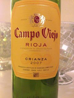 2007 Campo Viejo Rioja - Wine on the Dime