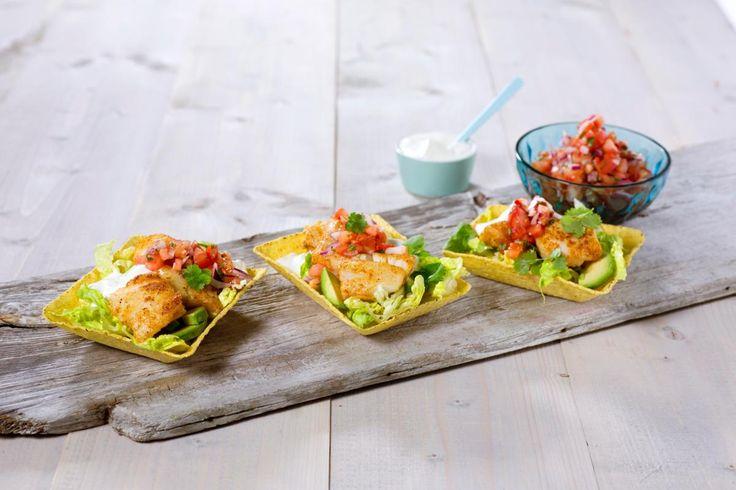 Taco er en favoritt blant både barn og voksne. Bytt ut kjøttdeig med fisk og pico de gallo, en frisk salsavariant.