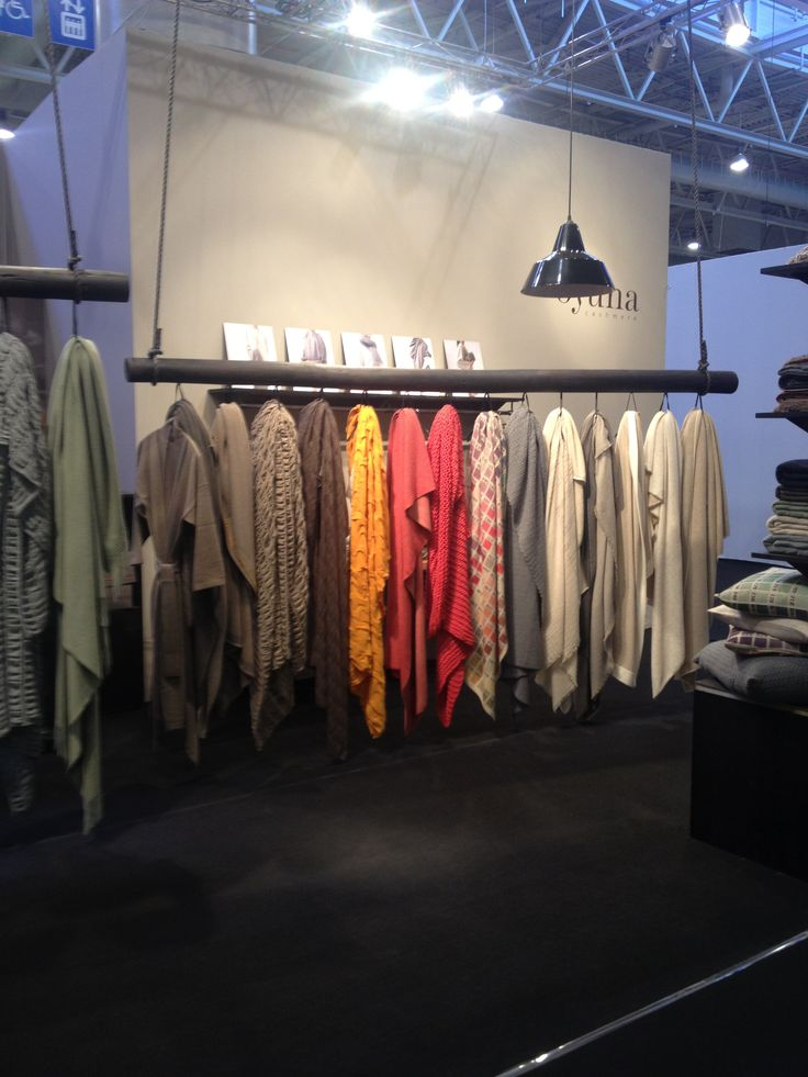 The Studio Harrods visits Maison & Objet - Oyuna Cashmere