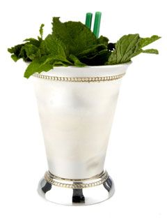 Of course, properly served in a silver (or pewter) mint julep cup! Maker's Mark Mint Julep - Bourbon Julep Recipe for Derby Day - Esquire