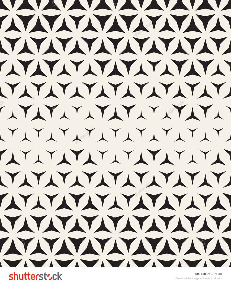Vector seamless pattern. Modern stylish texture. Repeating geometric tiles