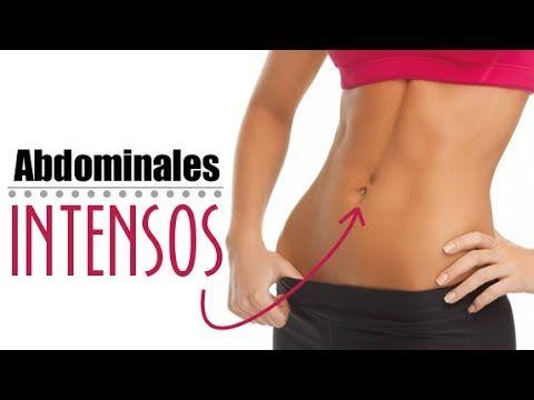 Ejercicios de abdominales intensos