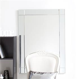 Rectangle Bevelled Edge Mirror | Kmart