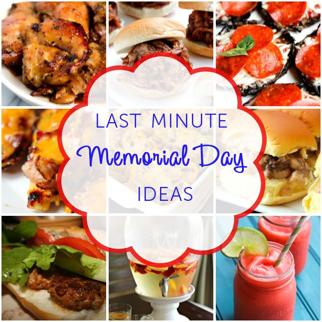 last minute memorial day vacation