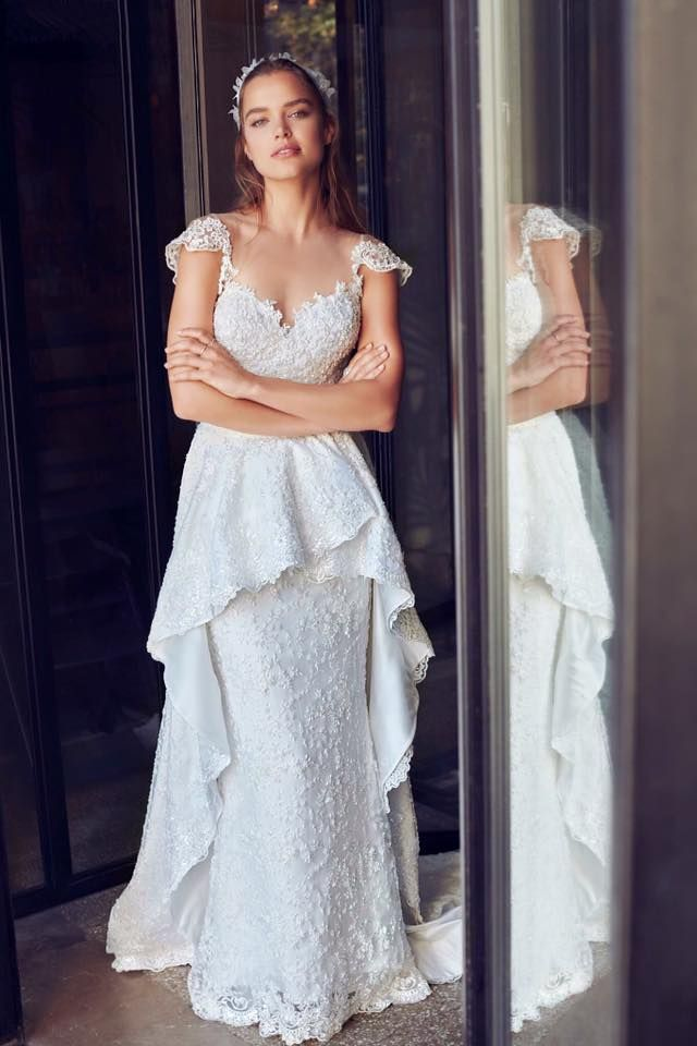 Decolove Laurel Golden Bridal Vine in Laurelle 2017 Wedding Collection