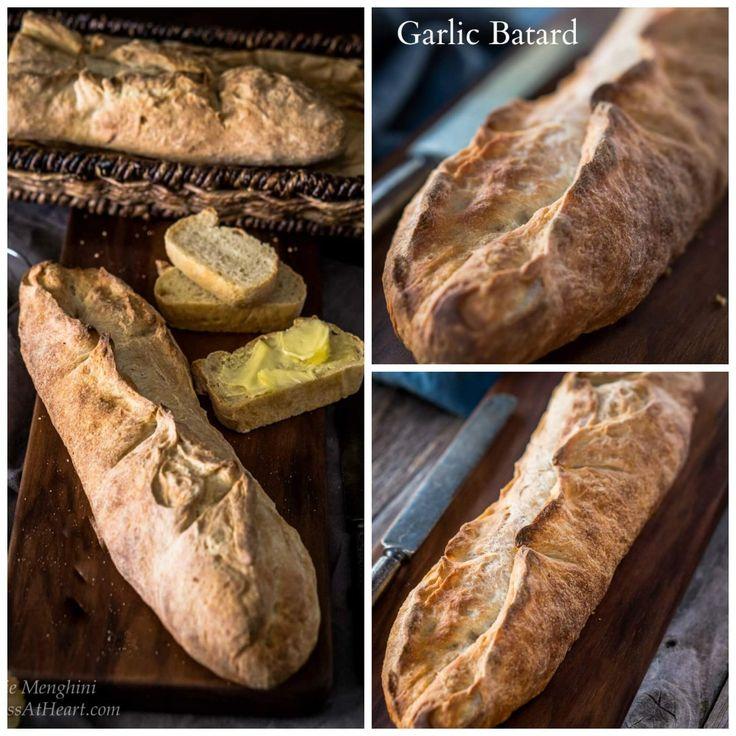 Garlic Batard – #BreadBakers