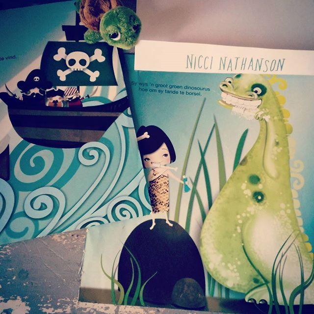 Children's book illustration by Nicci Nathanson