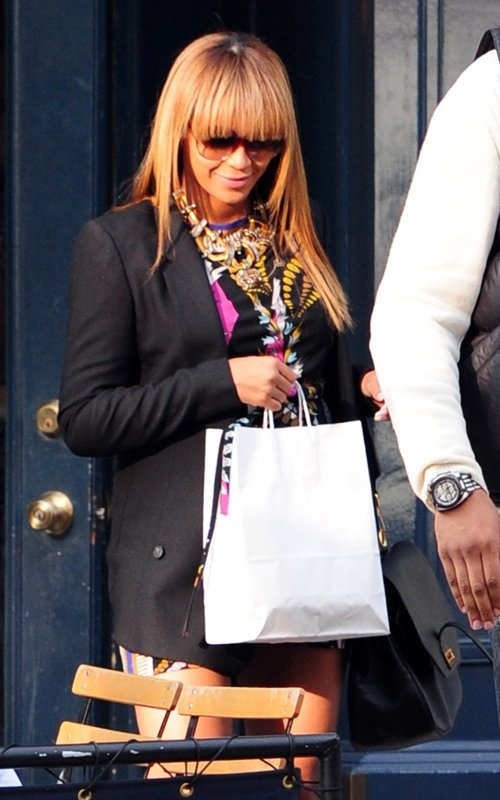 Bey and Baby Bey, always on the move!