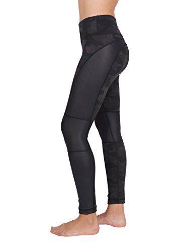 90 DEGREE BY REFLEX Girl/'s Black Active Yoga Leggings Choose size
