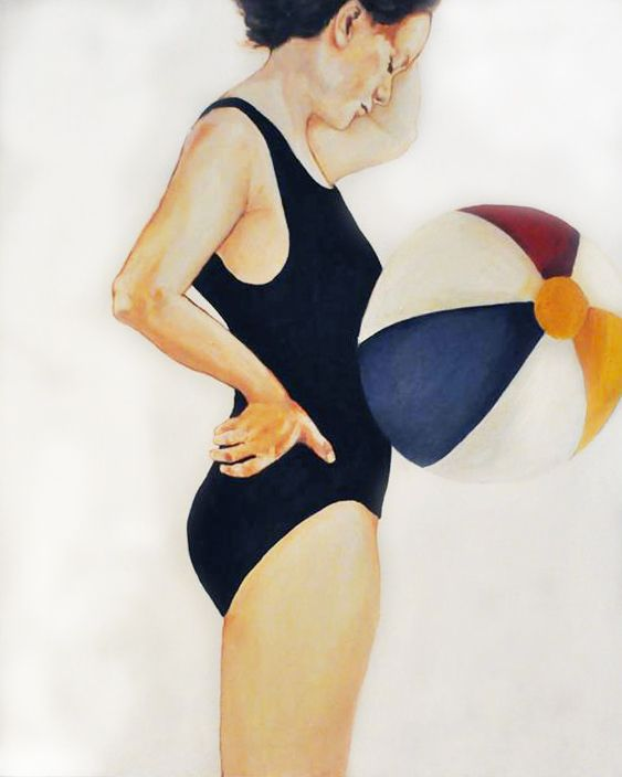 Magda Bielesz/100x80/2014/oil canvas