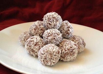 Nyttiga chokladbollar med dadlar | MåBra - Nyttiga recept