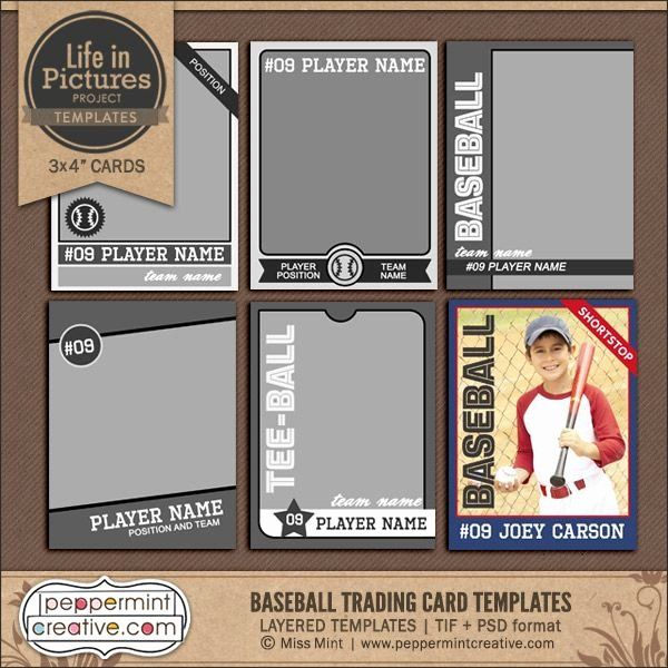 Free Baseball Card Template Download Best Of Baseball Card Template 9 Free Printable Word Pdf Psd Baseball Card Template Trading Card Template Card Template