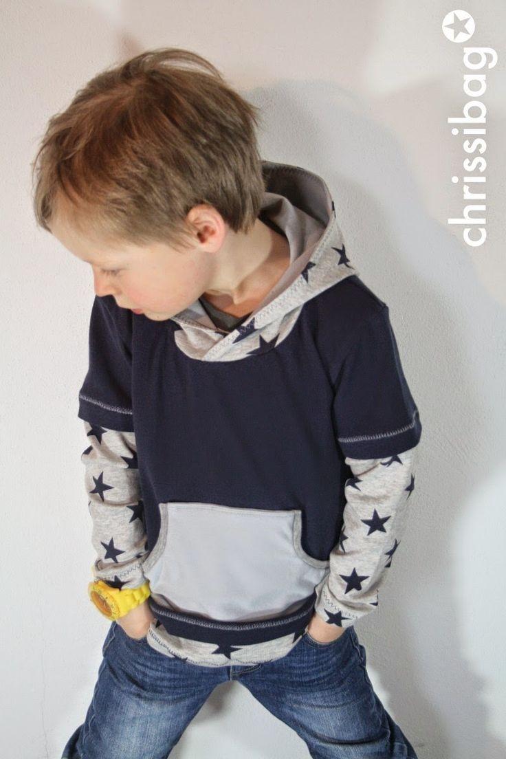 chrissibag: Layer-Look Shirt von mommymade!