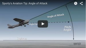 Video tip: What does angle of attack really mean?  Youve probably heard that you can stall an airplane at any airspeed and any attitude. Its true but it sure doesnt make much sense. In our latest video tip of the week we tackle angle of attack a critically important but often misunderstood topic. Youll learn what it really means how to visualize it in flight and what the new generation of AoA gauges shows. This is essential information for pilots of any level.  The video clip belowis from…