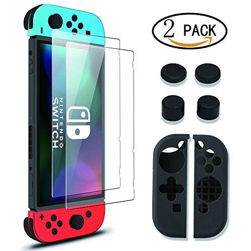 cool  Cristal Templado Nintendo Switch ,Wellead Protector de Pantalla Vidrio Cristal Templado Nintendo Switch , Japón AGC Vidrio