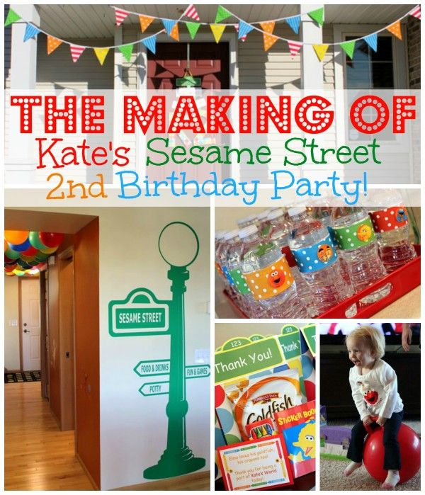 World Wide Wednesday: Sesame Street Birthday Party Ideas - The Inspired Home