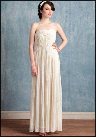 Simple Dress For Civil Wedding