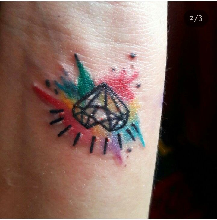 Tatto, Diamante em forma de corazón😍