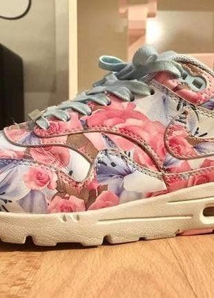 Kaufe meinen Artikel bei #Kleiderkreisel http://www.kleiderkreisel.de/damenschuhe/turnschuhe/144069265-wms-nike-air-max-1-ultra-city-paris-floral-pink-liberty-us-6-eur-365