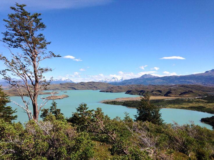 Vue du circuit W dans le Parc national Torres del Paine au Chili