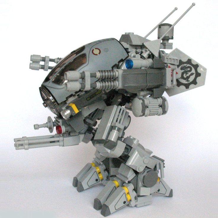 [Science Fi] Light scout mech MK8