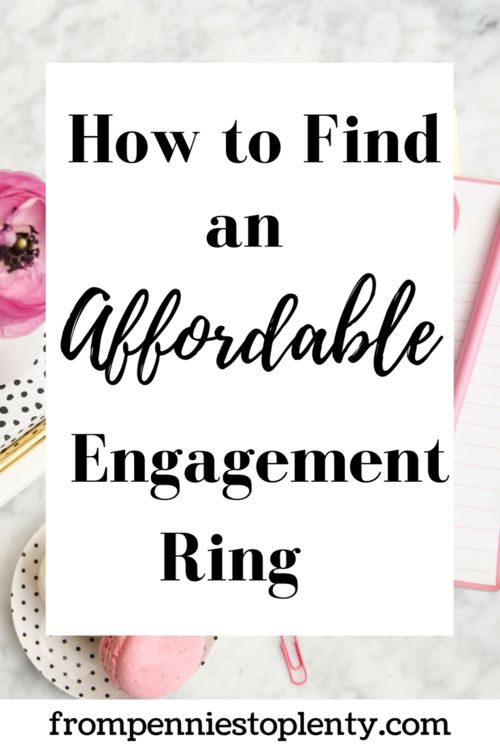 This in-depth guide is packed with tips will help you find an affordable engagement ring. / wedding / shopping / From Pennies to Plenty