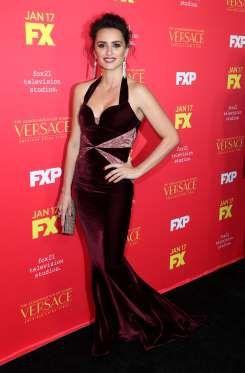 "Spanish actress Penelope Cruz takes on the role of Donatella Versace on ""The Assassination of Gianni... - Matt Baron/REX/Shutterstock"