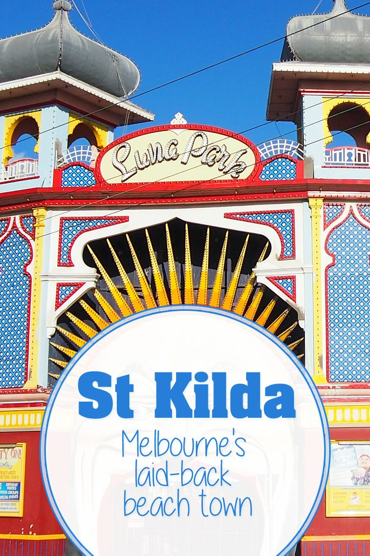 St Kilda - Melbourne's laid-back beach town. Save this pin for your next city trip in Australia!