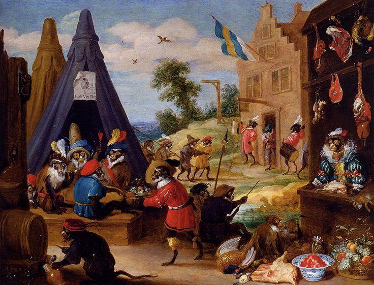 Teniers_David_A_Festival_Of_Monkeys