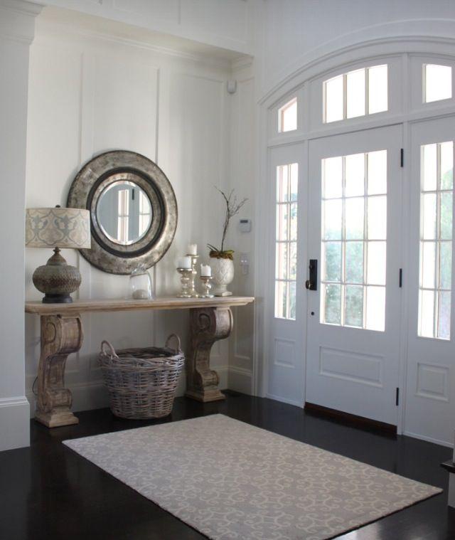 Houzz Foyer Furniture : Inspiring white entryways houzz and foyers
