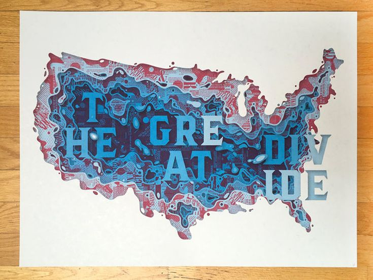 The Great Divide Poster