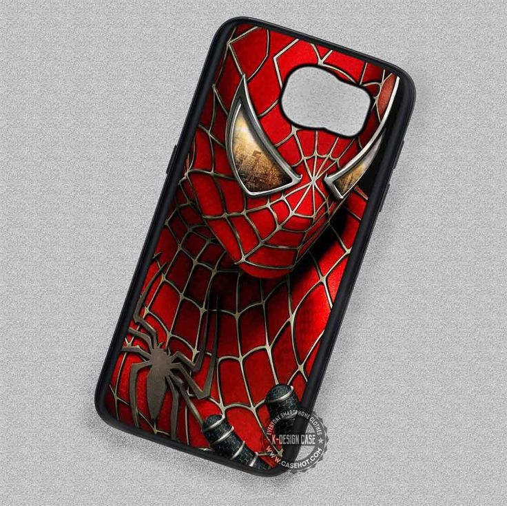 Spider Web Spiderman Painting - Samsung Galaxy S7 S6 S5 Note 7 Cases & Covers